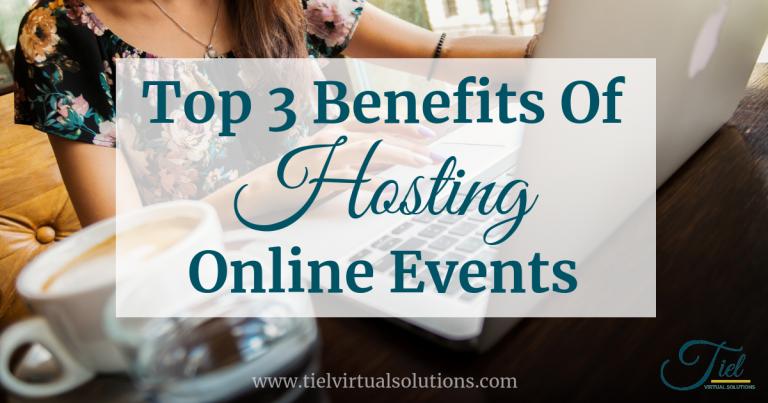 Benefits of Hosting Online Events Webinars Teleseminars Virtual Conferences Summits