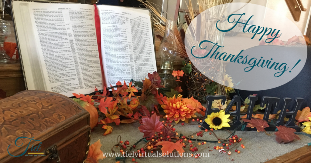 Thanksgiving Fall Bible Faith